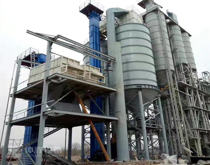 干法制砂楼-环保制砂楼设备-塔式干法制砂生产线