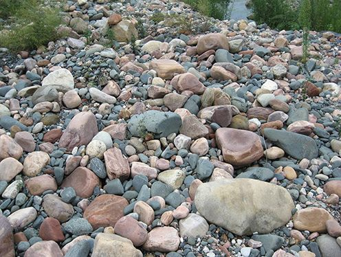 制砂原料河卵石